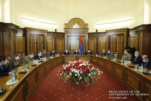 Состоялось внеочередное заседание Совета безопасности Армении