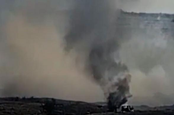 Уничтожение опорных пунктов и колонны противника (видео)