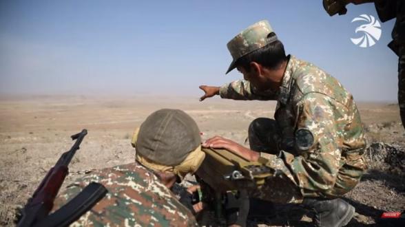 Հայրենիքի պաշտպանությանը զինվորագրված հերոսների մարզումները՝ ռազմաճակատ մեկնելուց առաջ