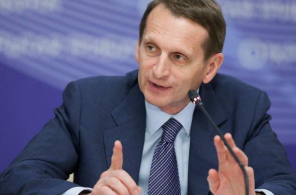 США везут в Молдавию «цветную» революцию – Сергей Нарышкин