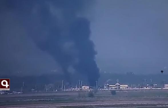 Уничтожение объектов военной инфраструктуры врага (видео)