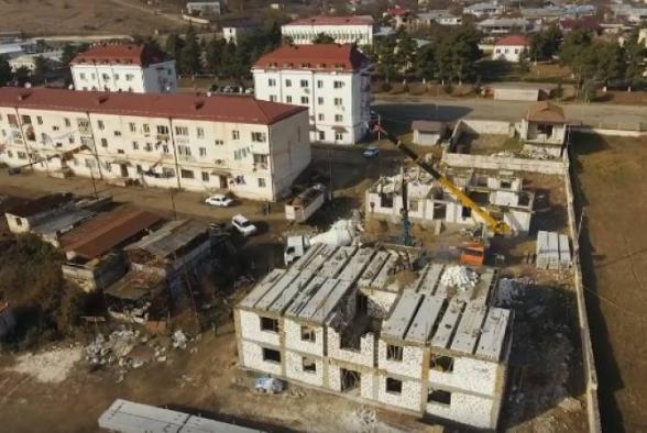 В результате обстрела общины Аветараноц ранен мирный житель