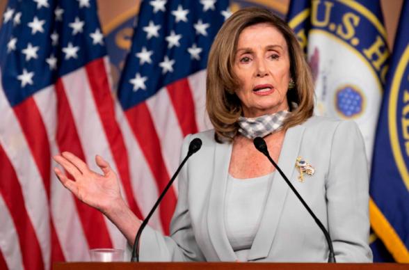 Спикер Палаты представителей Конгресса США выступила за прекращение огня в Карабахе