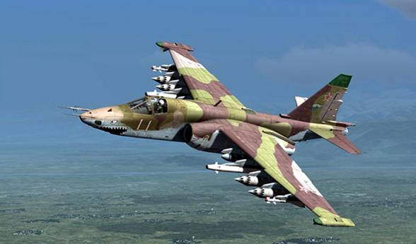 Минобороны опровергает сообщение о двух сбитых Су-25 Вооруженных сил РА