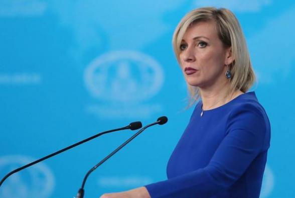 Мария Захарова: «Россия обеспокоена масштабным вовлечением наемников в конфликт в Карабахе»