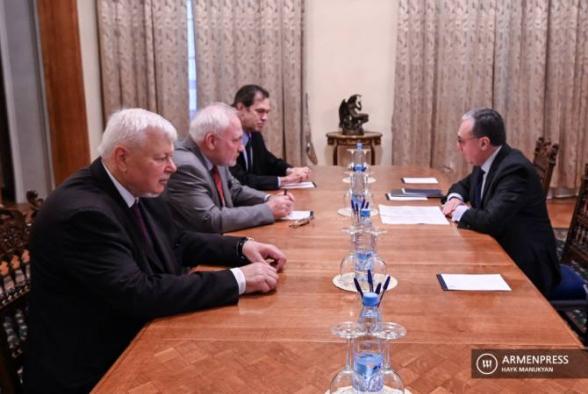 Ժնևում հոկտեմբերի 30-ին կկայանա Զոհրաբ Մնացականյանի և ԵԱՀԿ ՄԽ համանախագահների հանդիպումը