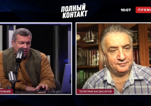 «В Арцахе воюет Турция»: комментарий Семена Багдасарова (видео)