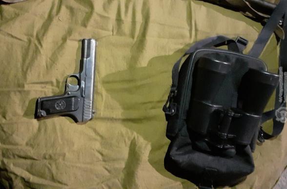 Ռազմական ոստիկանները հայտնաբերել են զենք-զինամթերք. ՀՀ ՊՆ (լուսանկար)