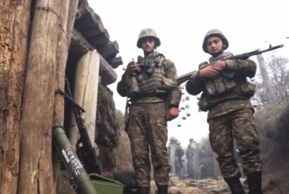 7-8 армянских солдат-срочников обратили в бегство группу противника из 100 человек