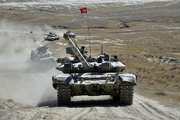 В Нахиджеван стянута крупная ударная турецкая группировка – Юрий Котенок