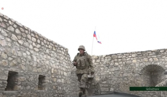 Ամարասի համալիրն ամբողջությամբ վերահսկվում է ՊԲ զորքերի կողմից. պարսպի վրա ՌԴ դրոշն է