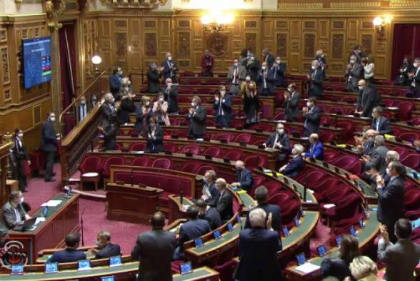 Сенат Франции принял проект резолюции «О необходимости признания Нагорно- Карабахской Республики»