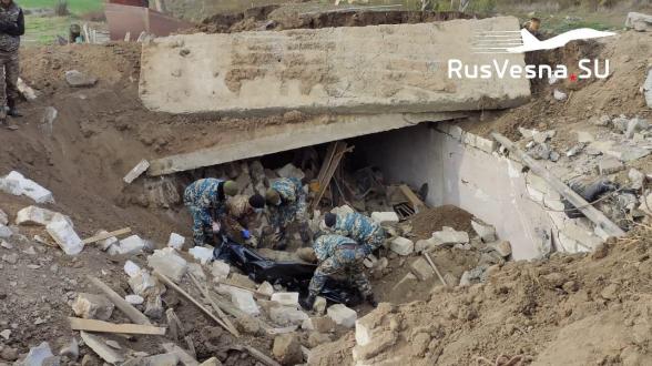 В районе Шуши за первую неделю найдено и передано более 2 тысяч тел каждой стороне – «Русская весна»