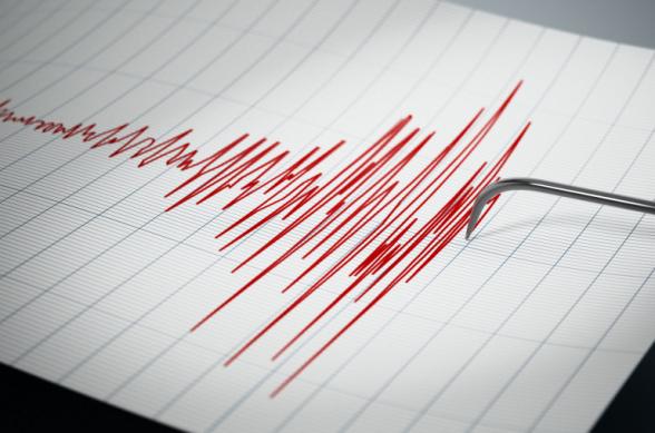 В 7 километрах к северу от села Сотк зафиксировано землетрясение
