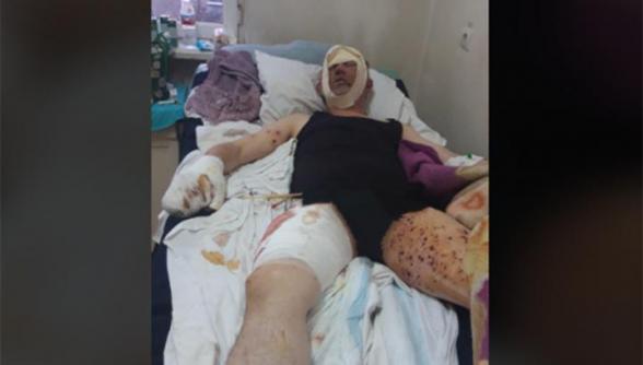 Մի՞թե այլևս անտիրության ենք մատնված. վիրավորում ստացած ՊԲ փոխգնդապետի կինն ահազանգում է