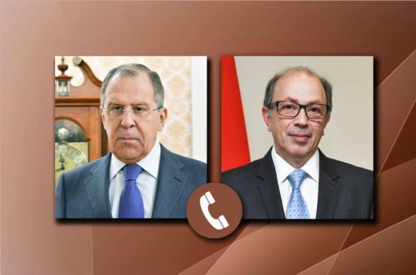 Сергей Лавров и Ара Айвазян обсудили ход выполнения положений заявления лидеров России, Азербайджана и Армении