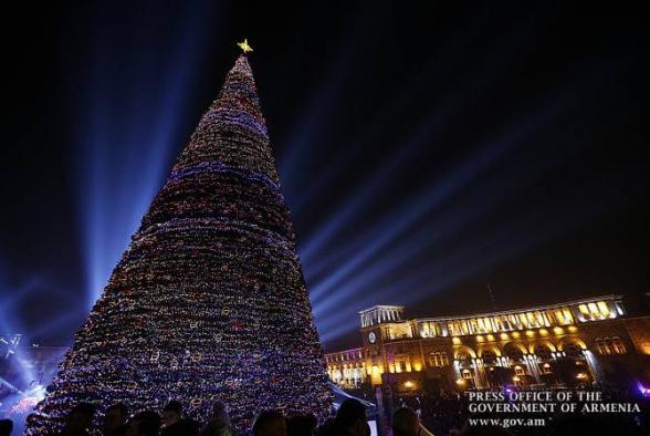 В этом году в Ереване не будет новогодних украшений