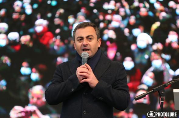 Оппозиция Армении предоставила Николу Пашиняну время до 8 декабря, чтобы уйти в отставку (видео)