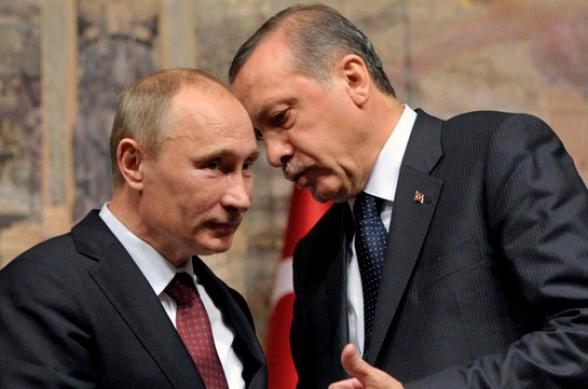 Պուտինը Էրդողանին տեղեկացրել է Մոսկվայում Ադրբեջանի և Հայաստանի ղեկավարների հետ հանդիպման արդյունքների մասին