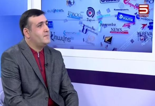 Нарек Манташян: «Почему не говорит Оник Гаспарян?» (видео)