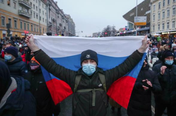 ՌԴ-ն Մոսկվայում ԱՄՆ-ի դեսպանատանը դատապարտել է «Նավալնիի աջակիցների կազմակերպած ցույցերին աջակցելու և ՌԴ-ի ներքին գործերին միջամտելու համար»