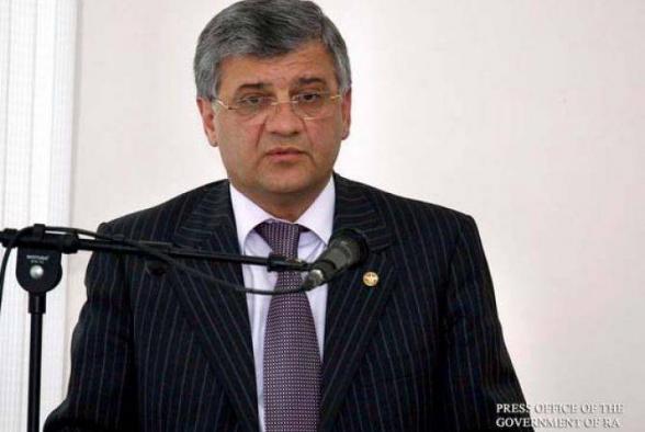 Արմեն Ղուլարյանն ազատվել է պաշտոնից. նա կնշանակվի քաղաքաշինության կոմիտեի նախագահ