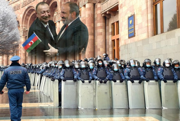 Նիկոլի հենարանները՝ Ադրբեջան և ոստիկանություն