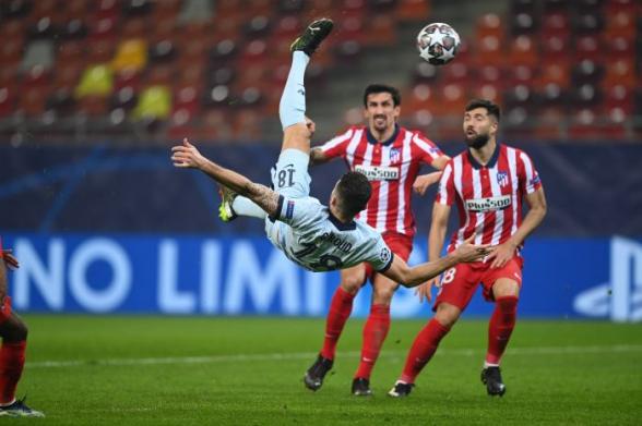 Лига чемпионов: «Бавария» забила 4 гола в Риме, «Челси» обыграл «Атлетико» (видео)