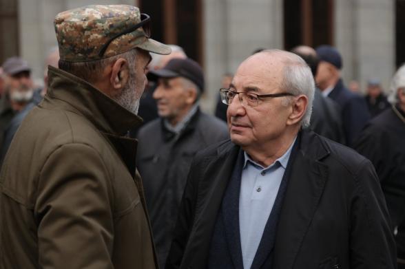 Вазген Манукян сегодня вечером будет на площади Свободы в Ереване
