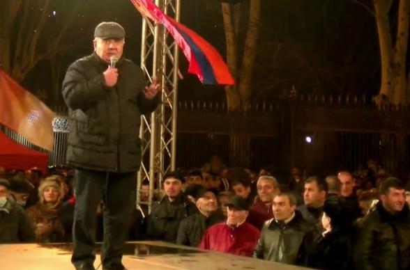 С нами вся армия, мы обязательно должны довести дело до конца – Хачатуров (видео)