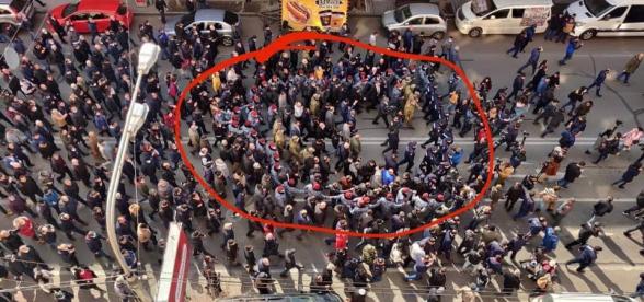 В этом году полицейские уже дважды получили премии за активное участие в митингах и демонстрациях – «Жоховурд»