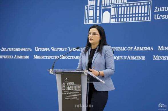 «Զանգեզուրով` Ադրբեջանի պատմական տարածքով» անցնող միջանցք չկա. ՀՀ ԱԳՆ-ն պատասխանել է Ալիևի