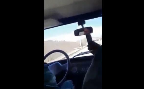 Ինչ են խոսում ադրբեջանցիները Կապանում արված նկարահանման ժամանակ (տեսանյութ)