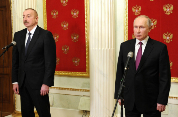 «Բաքուն այդ կապակցությամբ պաշտոնական նամակ է ուղարկել Մոսկվա»․ Ալիևը հայտարարել է, որ Պուտինի հետ քննարկել է «Իսկանդեր»-ների հետ կապված իրադրությունը