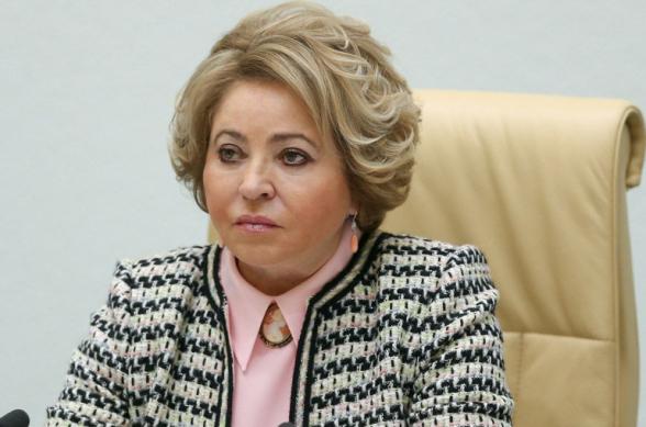 Матвиенко призвала сохранить хрупкий мир в зоне нагорно-карабахского конфликта