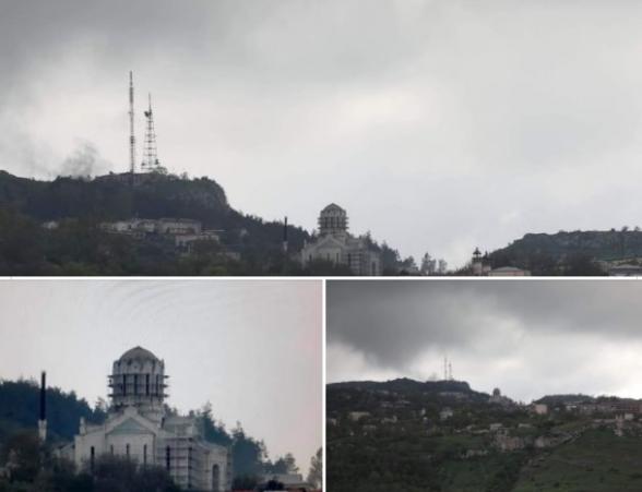 В преддверии 9 мая турки демонтировали купола собора Казанчецоц в Шуши