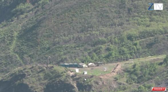 Կապանի Դիցմայրի բնակավայրի գլխին Ադրբեջանը ճանապարհ է կառուցում