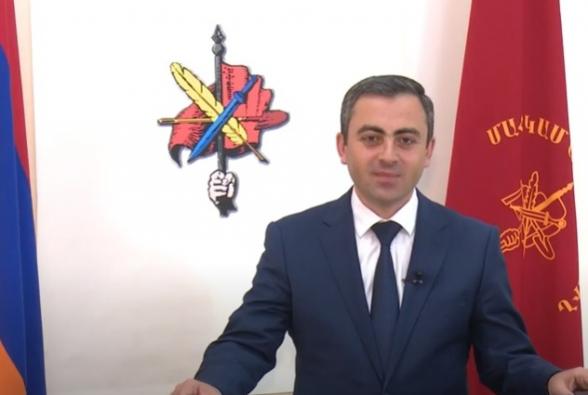 Заявление АРФ «Дашнакцутюн» об участии в предстоящих внеочередных выборах НС (видео)