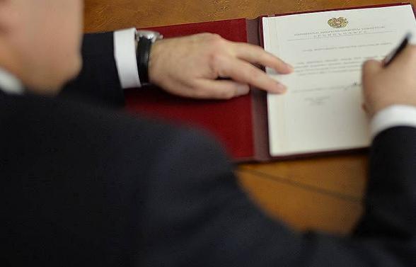 Армен Саркисян подписал указ о проведении внеочередных парламентских выборов