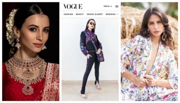 ArmenՅԱՆs. հայուհին՝ Vogue India-ի էջերին. մոդել Էմմանուէլլա Գրիգորյանը՝ Հնդկաստանում աշխատելու ու քասթինգին թուրք մոդելին հաղթելու մասին (լուսանկար)