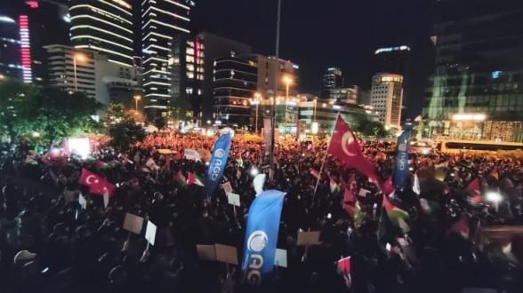 Թուրքիայի մի շարք քաղաքներում հակաիսրայելական ցույցեր են