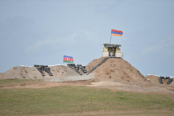 Минобороны Армении прокомментировало ситуацию с продвижением ВС Азербайджана в Сюнике