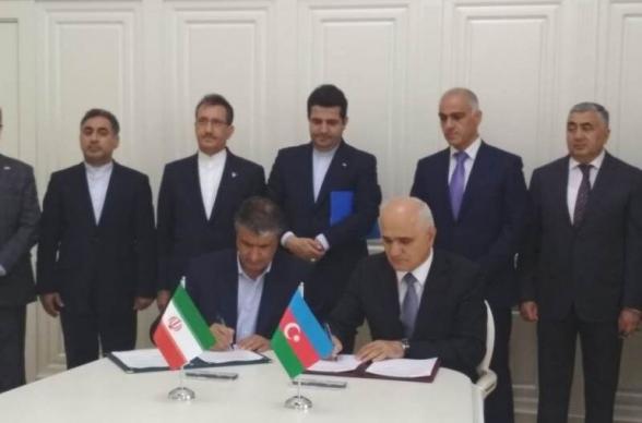 Իրանն ու Ադրբեջանը երկաթուղային ենթակառուցվածքների զարգացման հուշագիր են ստորագրել