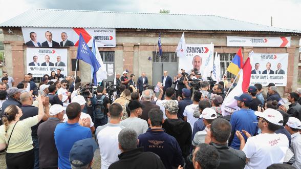 «Հայաստան» դաշինքի հանդիպումը Ալագյազում (տեսանյութ, լուսանկար)
