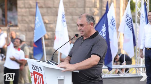 Շուշիի քաղաքապետը միացել է «Հայաստան» դաշինքին (տեսանյութ)