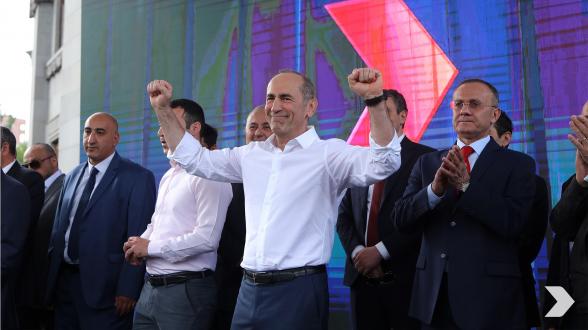 Ради построения сильной Армении 18-го июня в 19:00 приходи на площадь Республики!