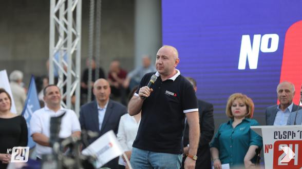 Չմասնակցելը՝ դասալքություն է, Նիկոլի դեմ չքվեարկելը՝ հանցակցություն, «Հայաստանի» օգտին քվեարկելը՝ ցանկություն