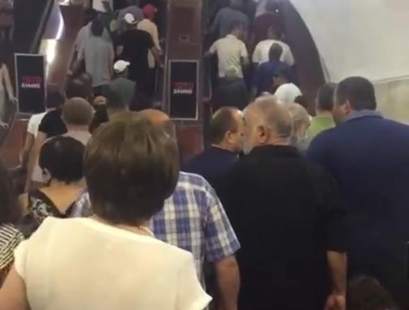 Ժողովուրդը շարժվում է դեպի հանրահավաք հանուն Հայրենիքի, հանուն Հայաստանի (տեսանյութ)