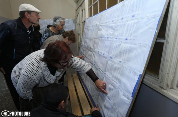 Հայաստանի Հանրապետության ընտրողների ռեգիստրում ընդգրկված ընտրողների ընդհանուր թիվն է 2.578.678. ՀՀ Ոստիկանություն