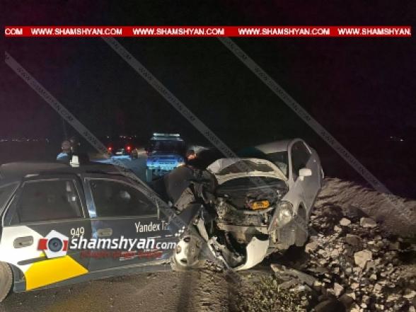Շիրակի մարզում բախվել են Nissan-ն ու Opel-ը, 6 վիրավորների մեջ կան ՌԴ քաղաքացիներ